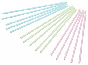 Sweetly Does It - Cake Pop Sticks - rosa, blau, grün