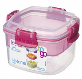 Sistema - Snack - to Go - pink
