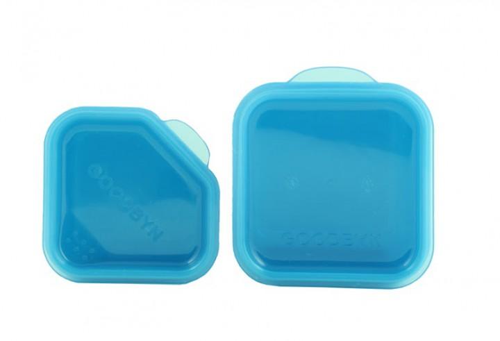goodbyn dipper set blau lunchboxen mit unterteilung lunchboxen beh lter snacken. Black Bedroom Furniture Sets. Home Design Ideas